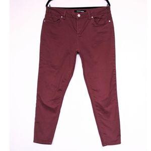 Ashley Mason Skinny Ankle Jeans